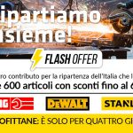 Flash Offer  Usag, DeWalt, Stanley – 60% di sconto